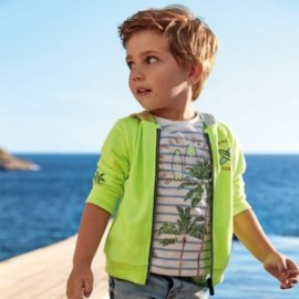 Mikina s potiskem chlapci Mayoral 3449-32 zelená