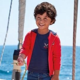 Mikina s potiskem chlapci Mayoral 3449-33 červená