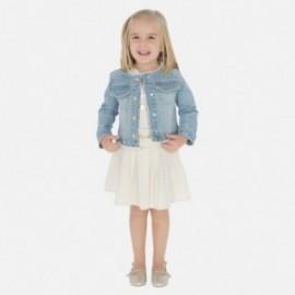 Plátěná sukně pro dívku Mayoral 3902-2 béžový