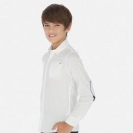 Košile s dlouhými rukávy chlapci Mayoral 6157-40 bílá