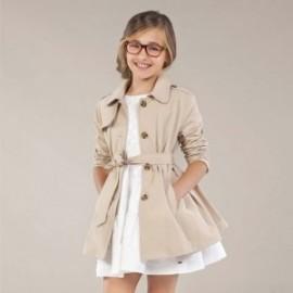 Dívčí kabát Mayoral 6464-28 béžový