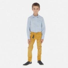 Kalhoty pro chlapce Mayoral 6522-42 hnědý