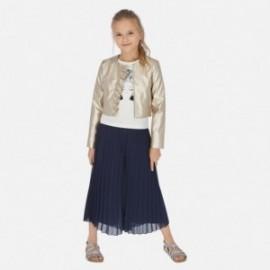 Sukně kalhoty pro dívky Mayoral 6955-30 granát