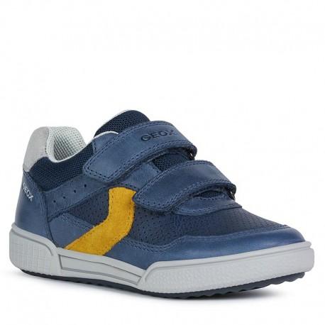 Chlapecké tenisky Geox J02BCA-0CLME-C4229 tmavě modrá