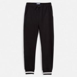 Kalhoty tepláky dívčí Mayoral 6538-73 černá