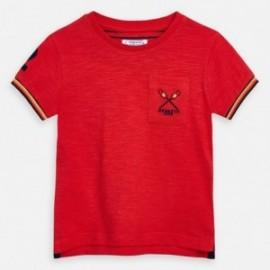 Tričko s krátkým rukávem chlapci Mayoral 3058-25 červená