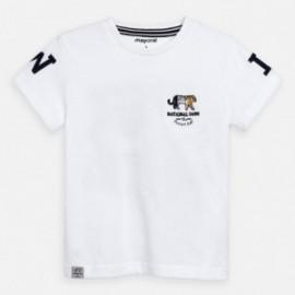 Tričko s krátkým rukávem chlapci Mayoral 3051-20 bílá