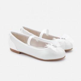baletky obřad dívčí Mayoral 45149-85 bílý