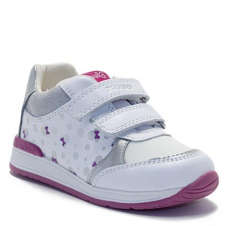 Dívčí tenisky Geox B020LC-085AS-C0007 bílá