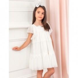 Elegantní šaty pro dívky Abel & Lula 5003-25 bílá
