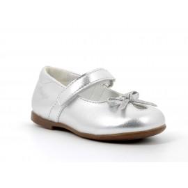 Dívčí baletky Primigi 5418011 stříbrné
