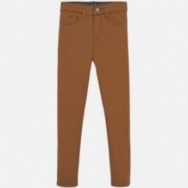 Kalhoty regular fit chlapci Mayoral 51-35 hnědý