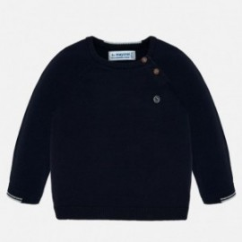 Bavlněný svetr pro chlapce Mayoral 309-89 granát