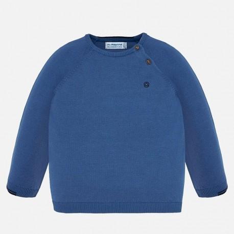 Bavlněný svetr pro chlapce Mayoral 309-86 modrý