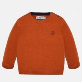 Chlapecký svetr s lemováním Mayoral 351-28 oranžový