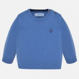 Chlapecký svetr s lemováním Mayoral 351-29 modrý
