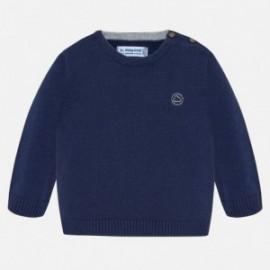 Chlapecký svetr s lemováním Mayoral 351-27 granát