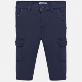 Kalhoty s kapsami pro chlapce Mayoral 2540-91 granát