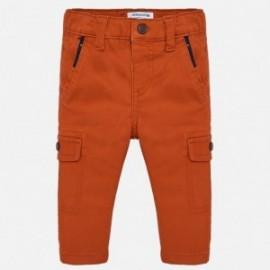 Kalhoty s kapsami pro chlapce Mayoral 2540-90 oranžový