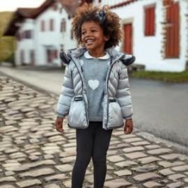Pletené kalhoty pro dívky Mayoral 4501-36 černá