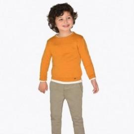 Kalhoty ve vzorech chlapci Mayoral 4509-37 béžový