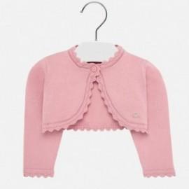Bolero svetr pro dívku Mayoral 308-13 růžový