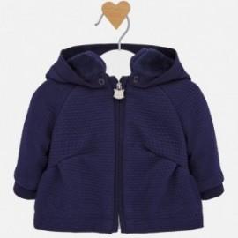 Mikiina s kapucí izolovaný pro dívky Mayoral 2411-31 granát