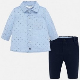 Sada trička a kalhot chlapecký Mayoral 2522-6 granát