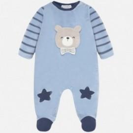 Velur pyžama pro chlapce Mayoral 2727-11 modrý
