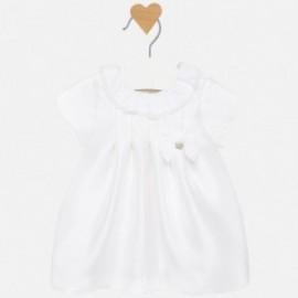Elegantní šaty pro dívky Mayoral 2815-49 krém