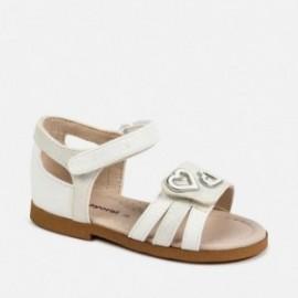 Sandály pro dívky Mayoral 41154-56 bílá
