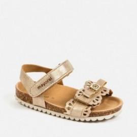 Sandály pro dívku Mayoral 41164-20 zlato