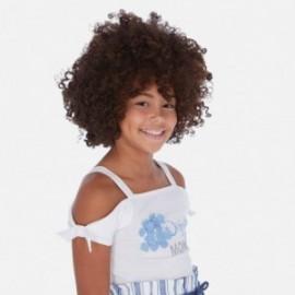 Tričko pro dívky Mayoral 6029-27 bílá