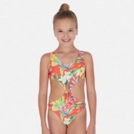 Mayoral plavky pro dívky 6726-19 oranžová