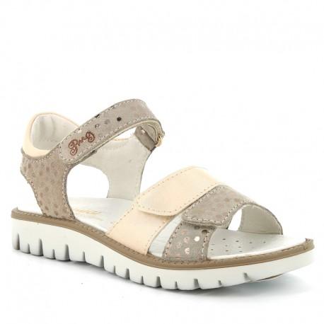 Sandály pro dívky Primigi 5386611 béžové