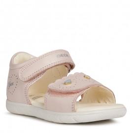 Dívčí sandály Geox B021YA-00044-C8172 Růžová