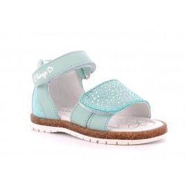 Sandály dívčí Primigi 5420111 tyrkysový