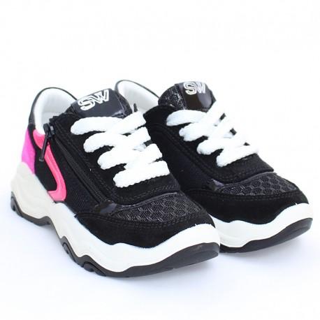 Dívčí IMAC 5306001-7000-6 černé tenisky