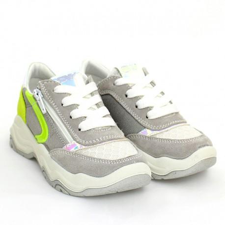 Dívčí tenisky IMAC 5306000-7022-10 stříbrné