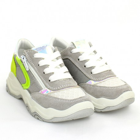 IMAC 5306000-7022-10 stříbrné tenisky pro dívky