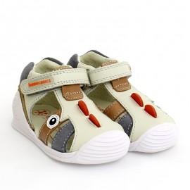 Biomecanics 202147 béžové chlapecké sandály