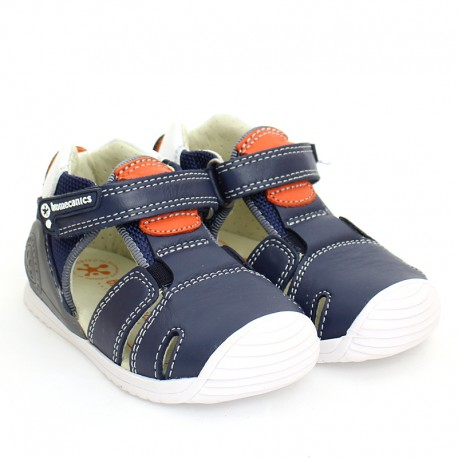 Chlapecké sandály Biomecanics 202138 tmavě modrá