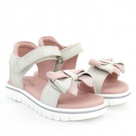 Dívčí sandály Garvalin 202653 stříbrné