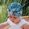FUMA turban Čepice pro dívky Jamiks JWC189 smaragdová barva