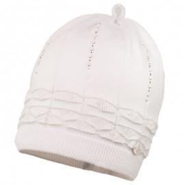HERMOSA dívčí klobouk Jamiks JWC046 bílá