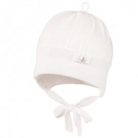 TOMASA dětská čepice Jamiks JWC168 barva bílá