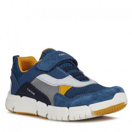 Chlapecké tenisky Geox J029BD-01422-C4B2G námořnická modrá