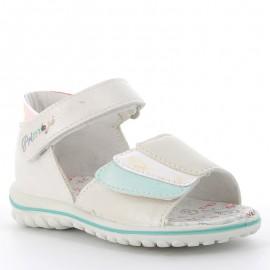Primigi 5365622 dívčí sandály stříbrná