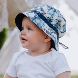 HIPOLITO chlapecká čepice Jamiks JLC119 smaragdová barva