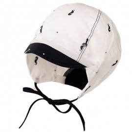 KLAUDIUSZ chlapecká letní čepice Jamiks JLC035 bílá